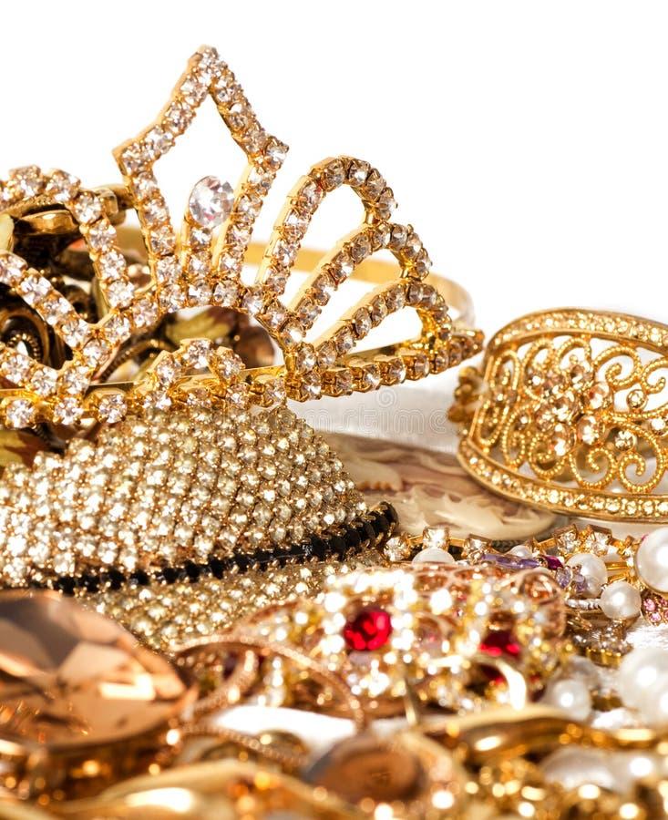 Beautiful Jewelry On Background Stock Image - Image: 31648303
