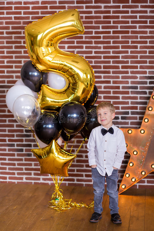 Free Beautiful Kids, Little Boys Celebrating Birthday And Blowing Candles On Homemade Baked Cake, Indoor. Birthday Party For Stock Photos - 92236393