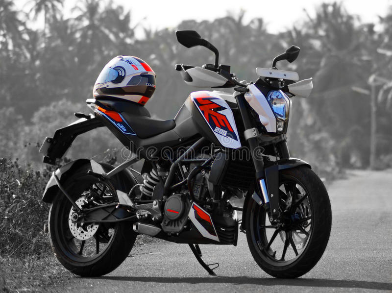 Ktm Duke 200 Black And White Images