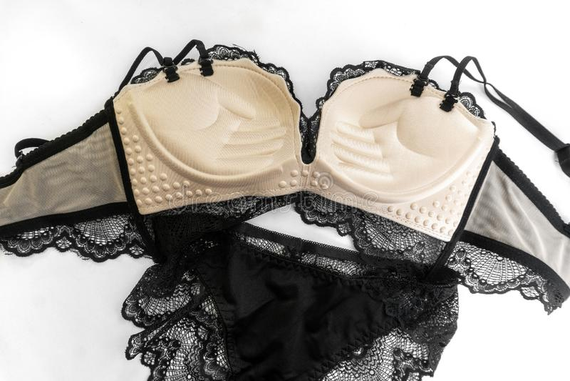 Elegant satin panties Black lingerie Luxurious boudoir lingerie Queen lingerie Panties Lace panties Retro panties Knicker panty