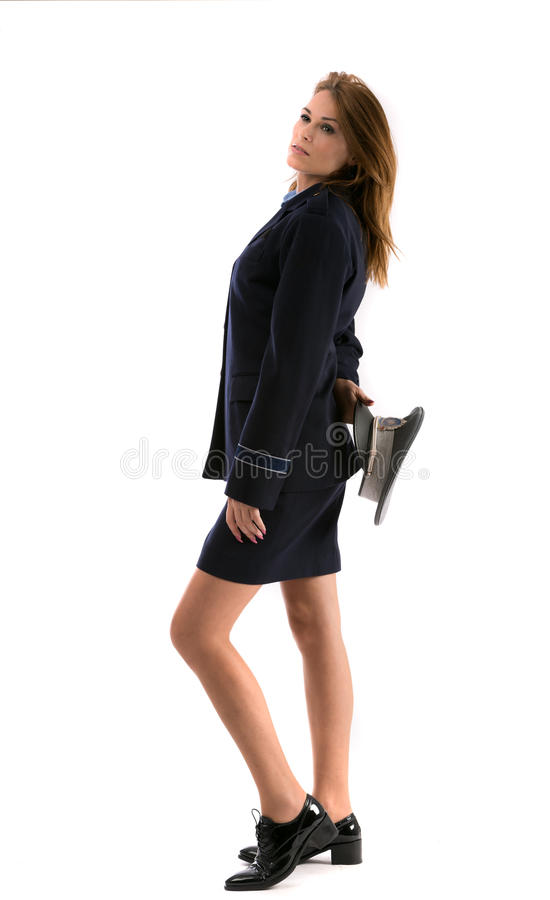 Download Beautiful lady cop stock image. Image of lady, gorgeous - 27884955