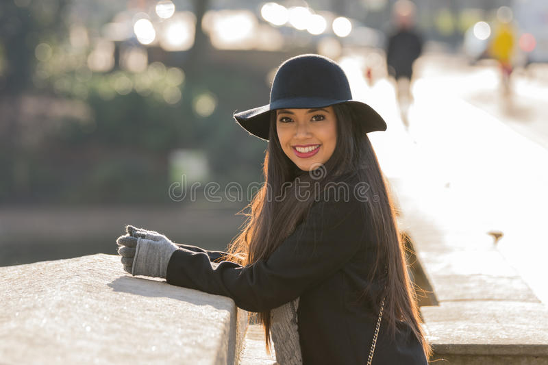 Beautiful lady royalty free stock images