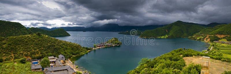Beautiful lake in china royalty free stock photos