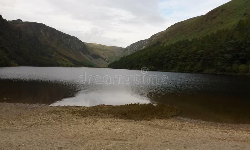 Beautiful lake in the Irish countryside stock photos