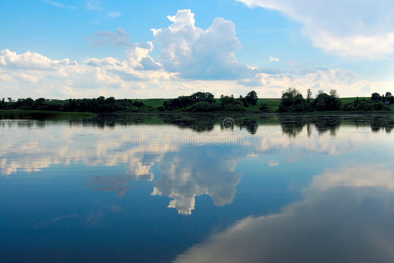 Download Beautiful Lake Landscape In The Morning Stock Photo - Image: 10781972
