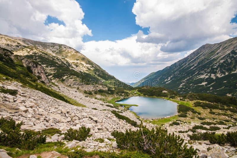 Beautiful Lake and Mountain View stock image