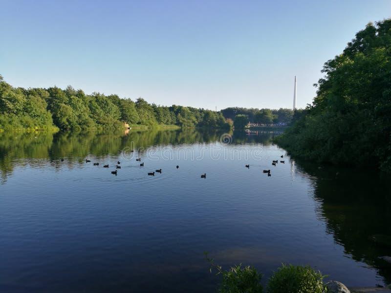 A Beautiful lake stock images
