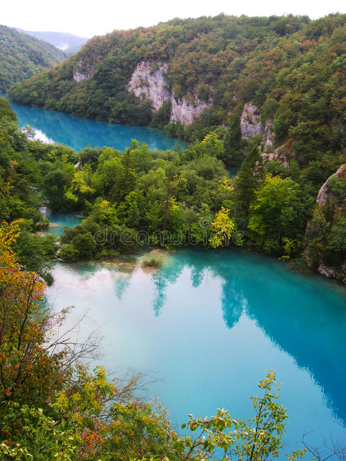 Download The Beautiful Lakes Cascade In Plitvice National Park, Croatia Stock Photo - Image: 31422314