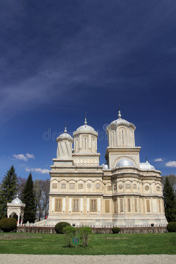 Download Beautiful Landmark: Curtea De Arges Cathedral Stock Image - Image of curved, cross: 24505539