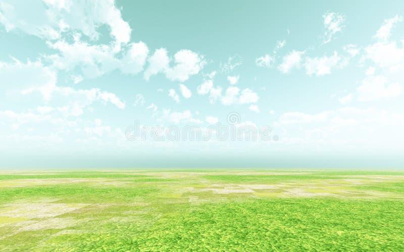Beautiful landscape royalty free illustration
