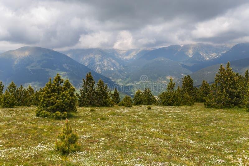 Beautiful landscape, Catalan Pyrenees royalty free stock photo