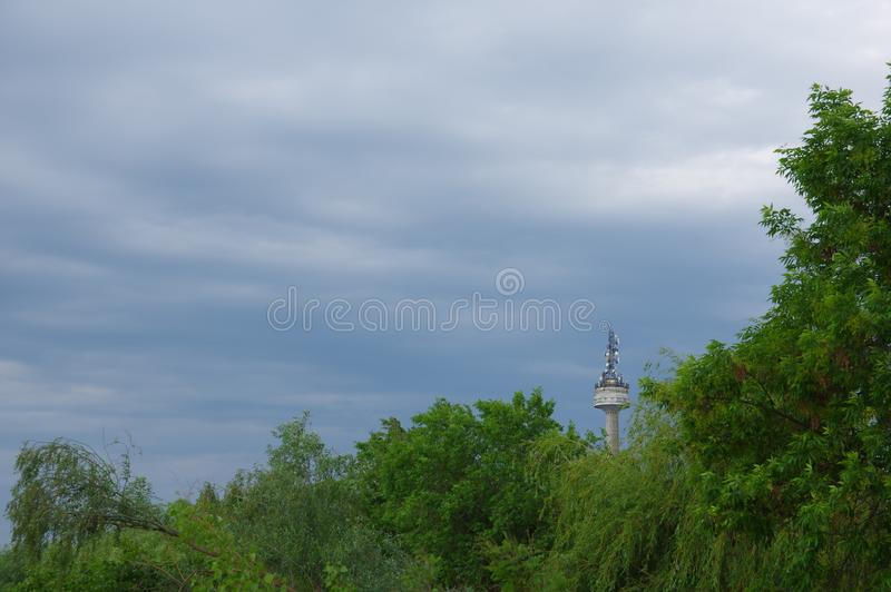 Tulcea city and the Danube river 7 royalty free stock photos