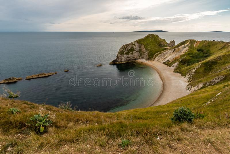 Beautiful landscape in Dorset stock photo