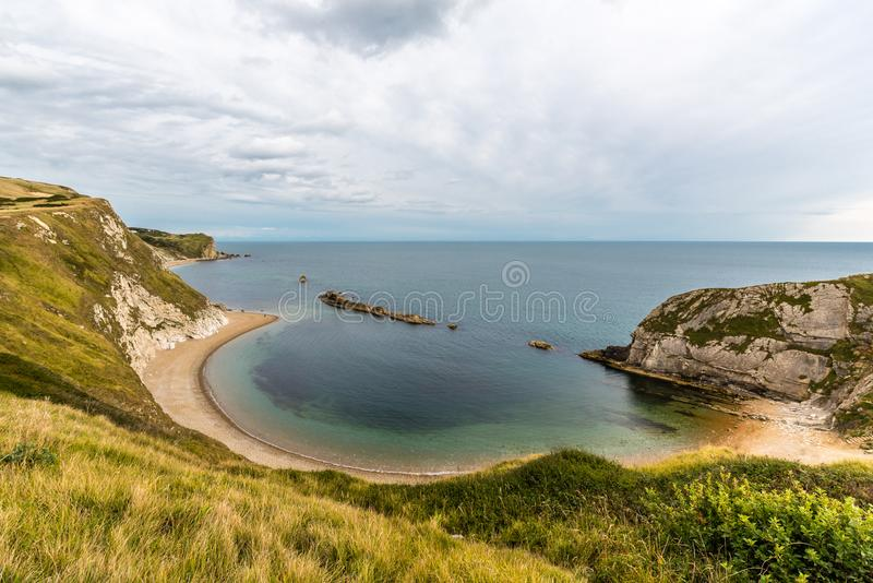 Beautiful landscape in Dorset stock photos