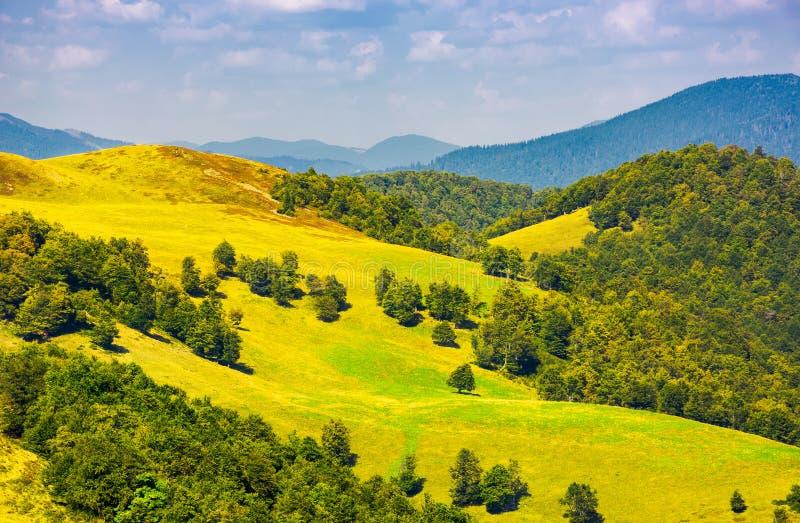 Beautiful landscape of Krasna mountain ridge royalty free stock photography