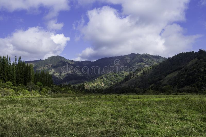 Beautiful countryside landscape royalty free stock image