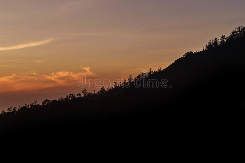 Beautiful landscape - ooty,india. Western ghats of india stock photo