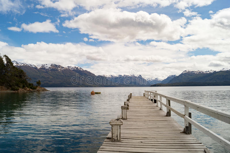 Beautiful landscape in Patagonia, Argentina royalty free stock photography