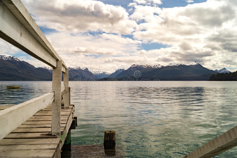 Beautiful landscape in Patagonia, Argentina royalty free stock photos
