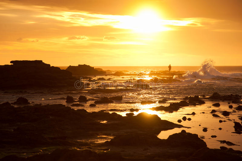 Download Sunrise, Waikawa Bay Royalty Free Stock Image - Image: 30060106