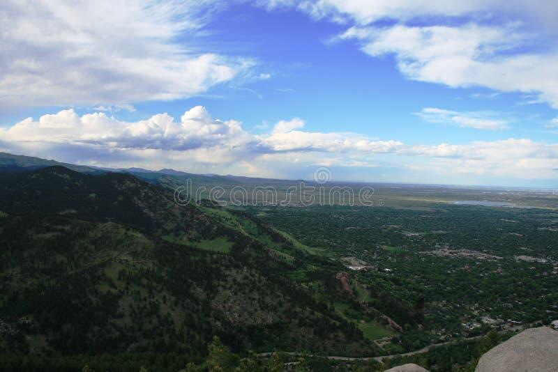 Beautiful landscape of rocky mountain. royalty free stock photos