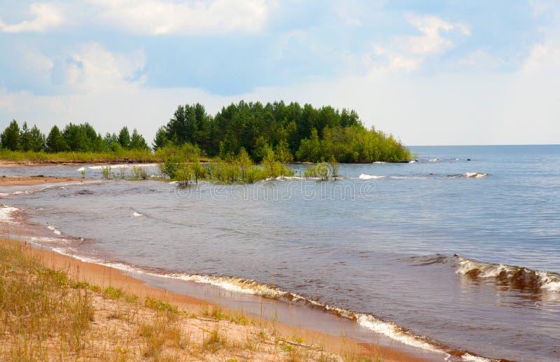 Download Beautiful Landscape Of Summer Lake Stock Image - Image: 20710903