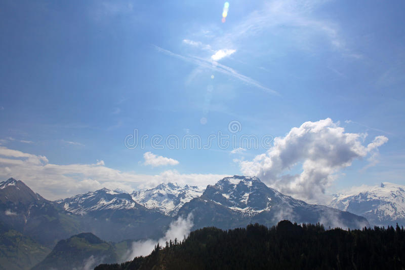 Download Beautiful Landscape Of The Swiss Alps Stock Image - Image: 25254599