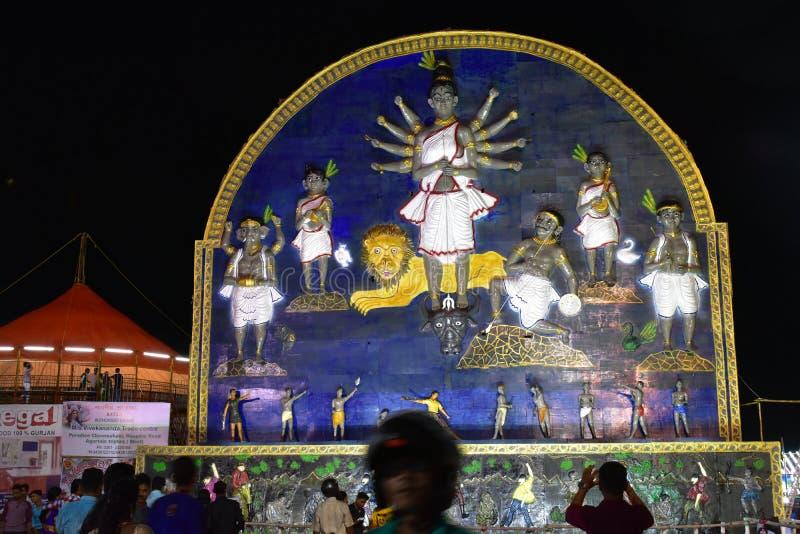 Durga Icon stock photo