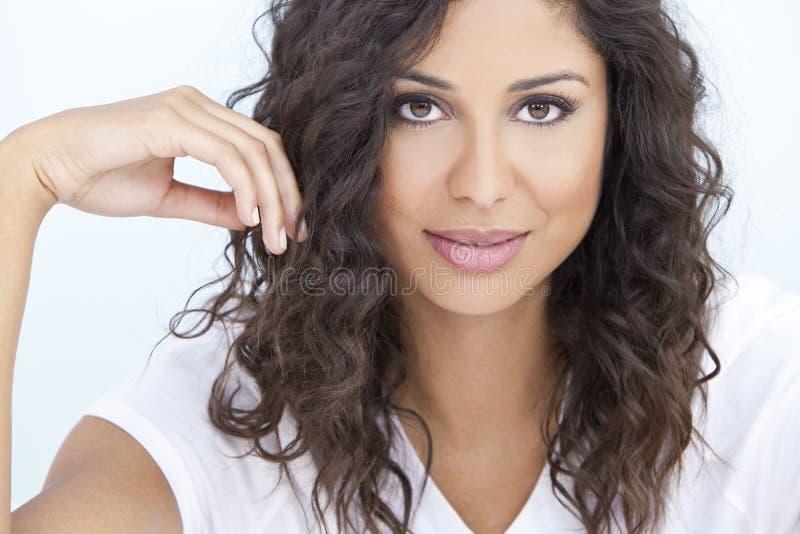 Beautiful Latina Hispanic Woman royalty free stock photography