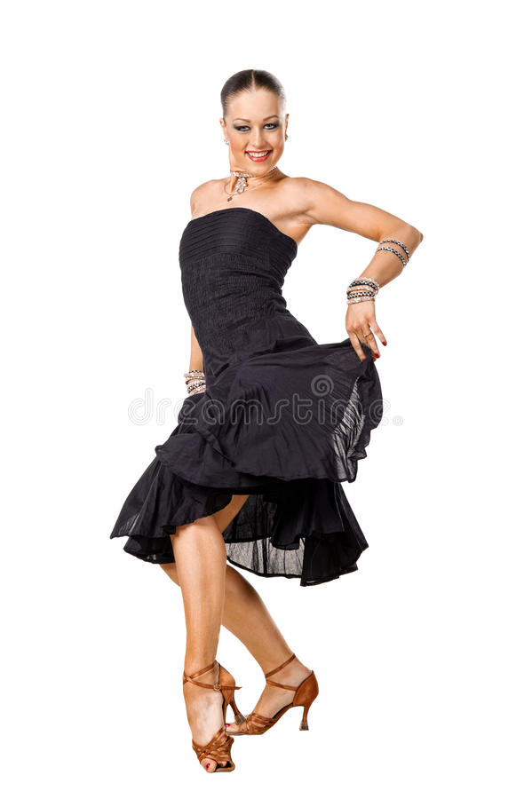 Free Beautiful Latino Dancer In Action Stock Image - 18672961