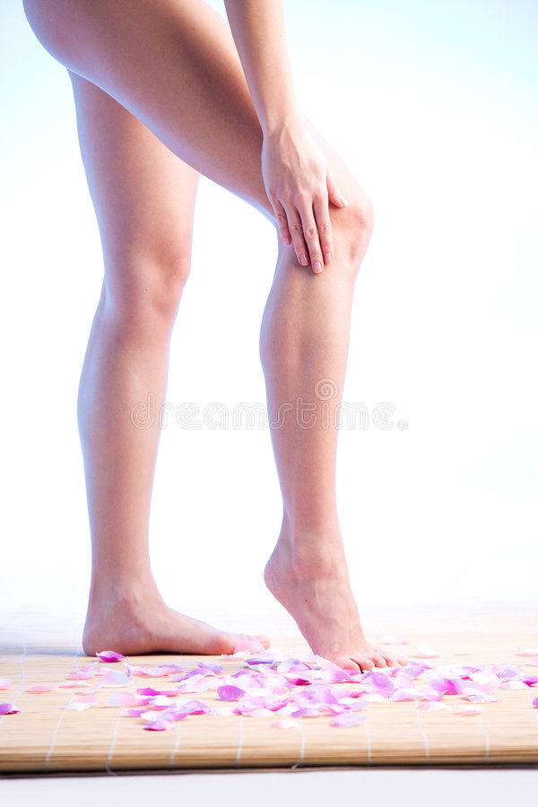 Beautiful legs royalty free stock images