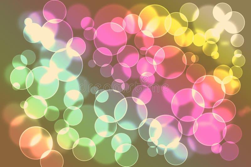 Download Beautiful Light Bokeh Background Stock Illustration - Image: 23951109