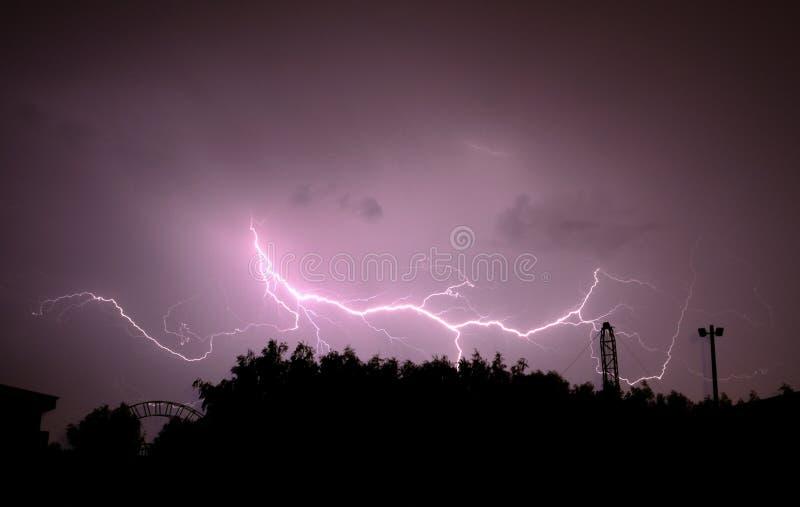 Beautiful Lightning Royalty Free Stock Photography