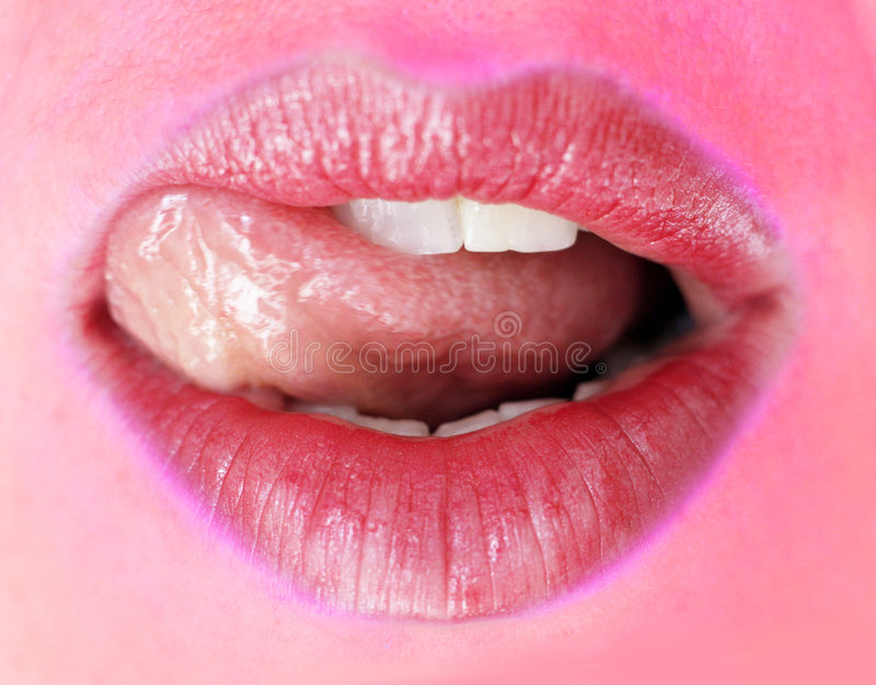 Download Beautiful lips stock photo. Image of person, teeth, fashion - 7223892