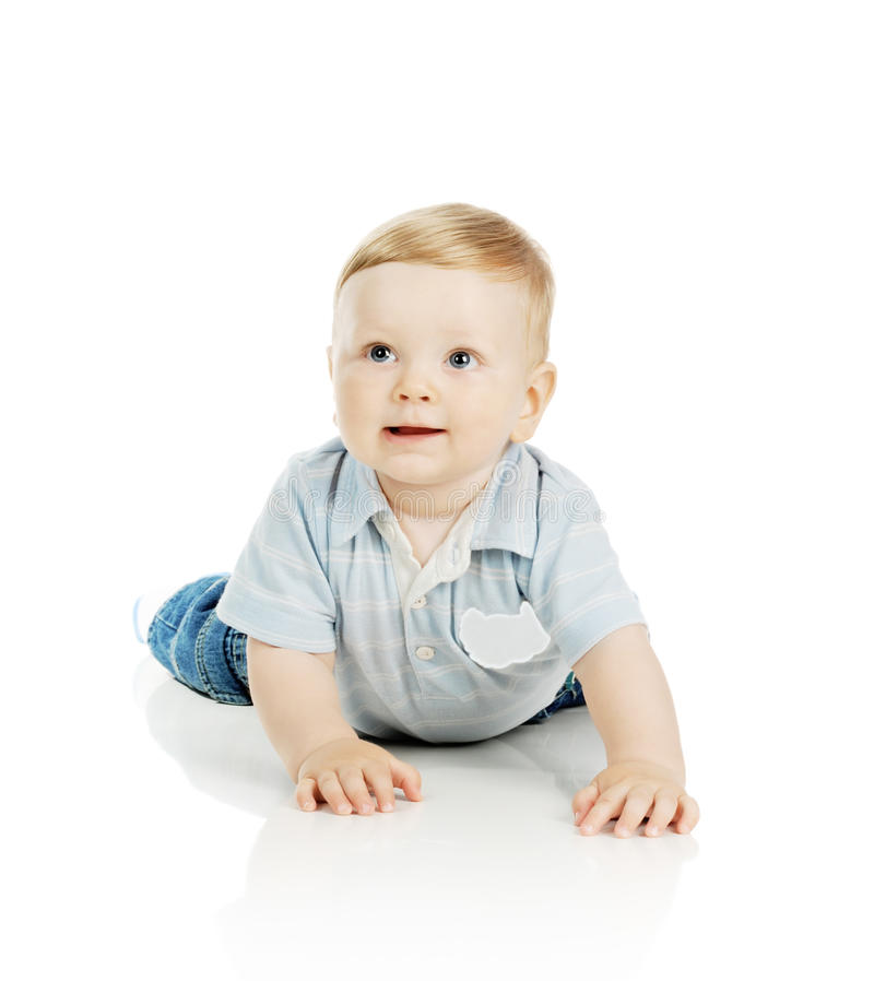 The Beautiful Little Boy Royalty Free Stock Images