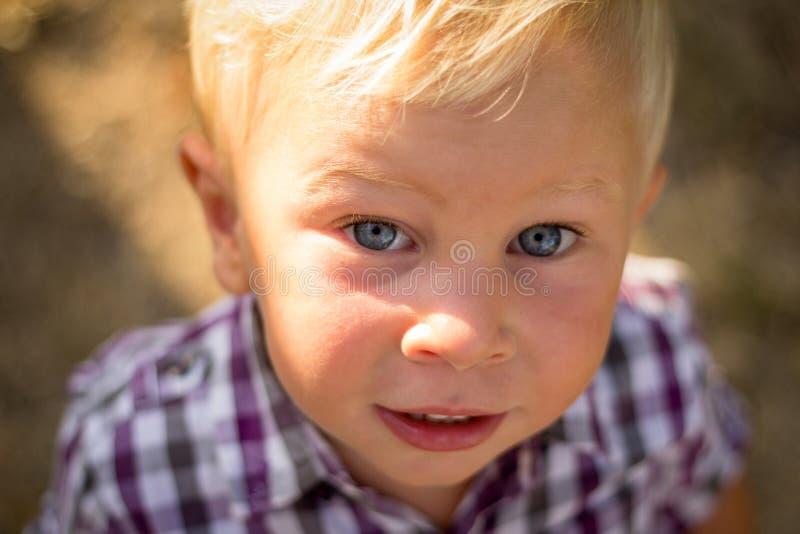 Beautiful little child smiling royalty free stock image