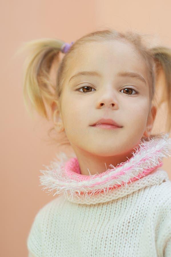 Download Beautiful little girl stock image. Image of blonde, human - 24301045