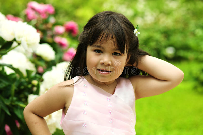 Download Beautiful little girl stock photo. Image of people, happy - 25213030