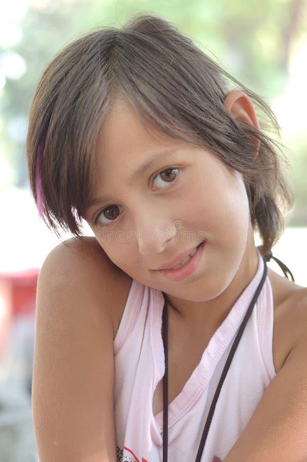 Beautiful little girl royalty free stock photo
