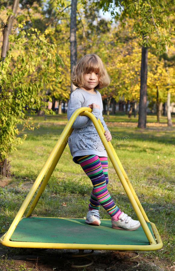 Download Beautiful Little Girl Posing Stock Image - Image of active, pretty: 27563037