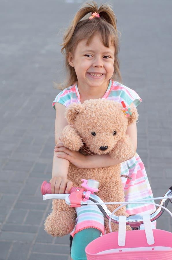 Consider, Girl rides teddy bear can