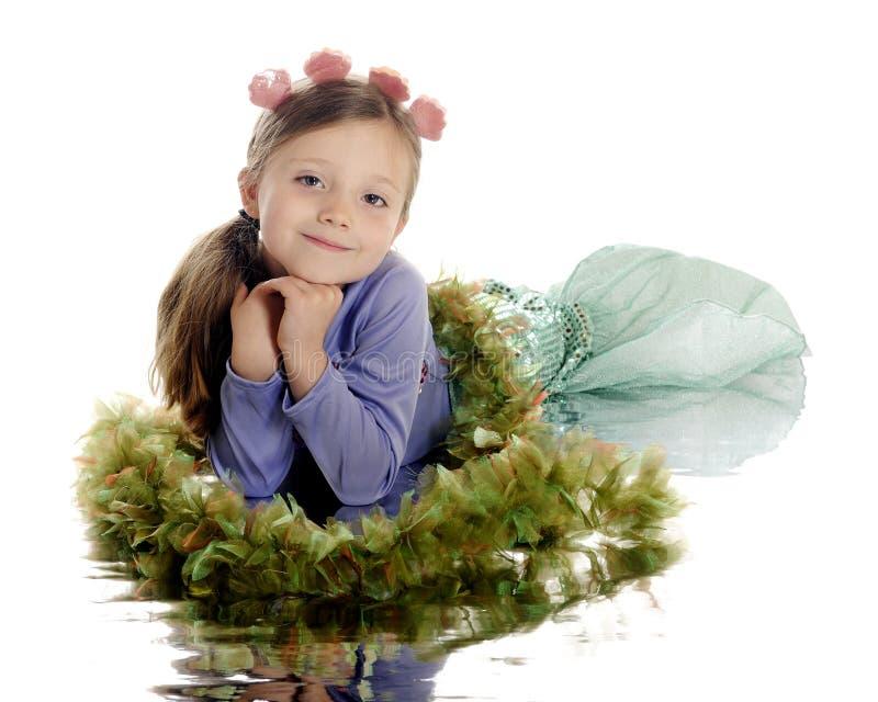 Beautiful Little Mermaid Royalty Free Stock Image