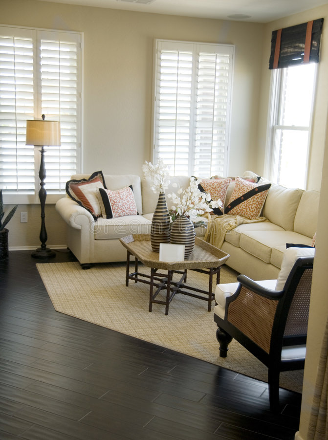 Beautiful Living Room stock image. Image of residence - 2957281