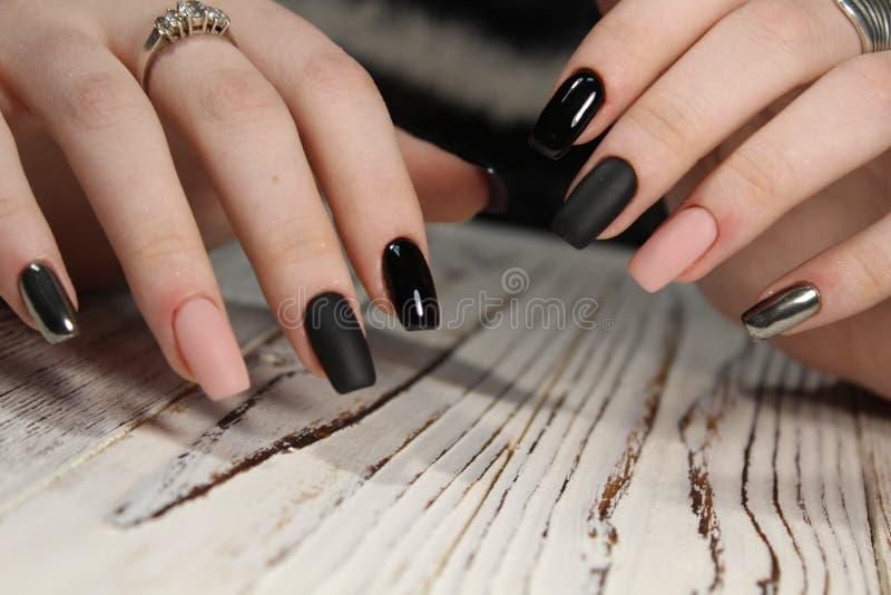 Beautiful long nails stock image. Image of nail, face - 107470659
