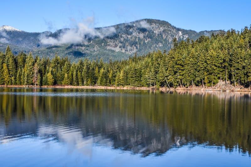 Lost Lake, Whistler, BC. Beautiful Lost Lake in Whistler, British Columbia, Canada royalty free stock image