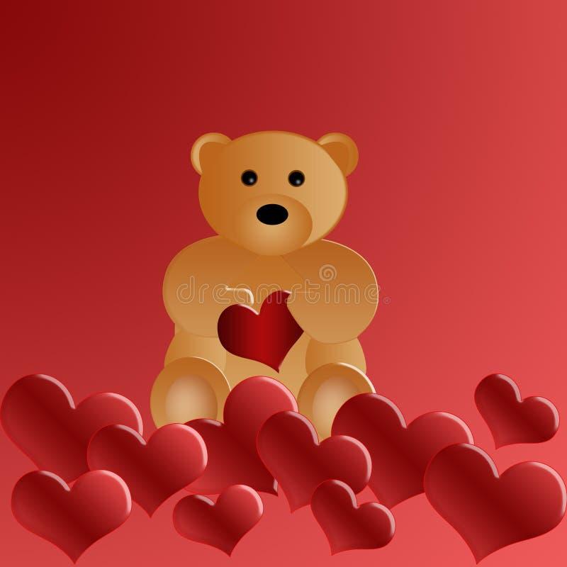 Beautiful Loving Teddy Bear Royalty Free Stock Photos