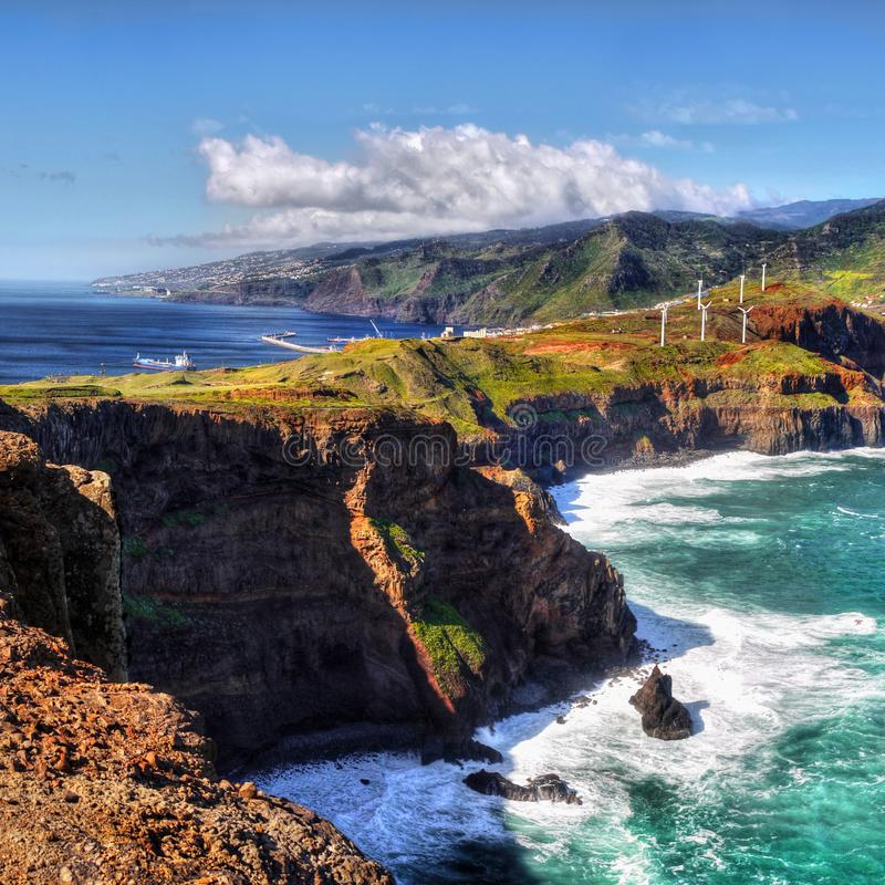 Beautiful Madeira Island royalty free stock photos