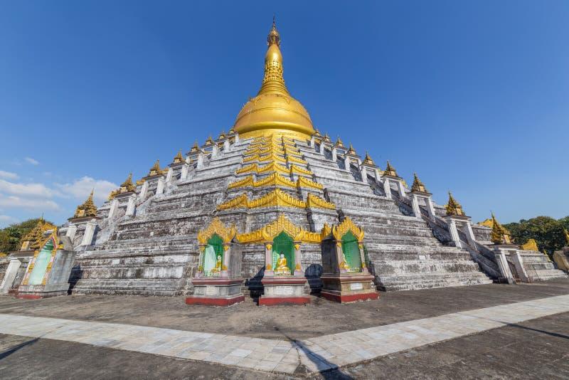 Mahazedi pagoda at Bago, Myanmar. The beautiful Mahazedi pagoda at Bago, in Myanmar royalty free stock photography