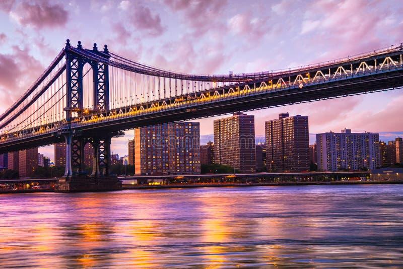 Manhattan Bridge NYC royalty free stock photo