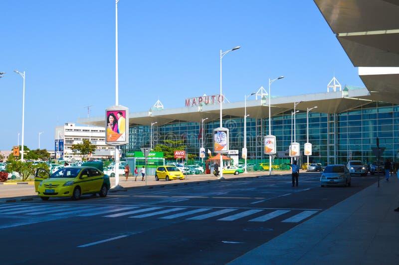 Beautiful Maputo International Airport Photo stock photos
